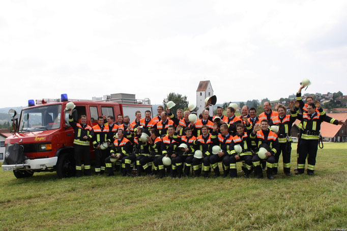 Feuerwehr Ermengerst, Gruppenbilder