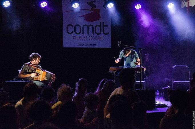 Duo Rousse-Tisnèr - Fête de la musique COMDT 2018 // © Céline L.