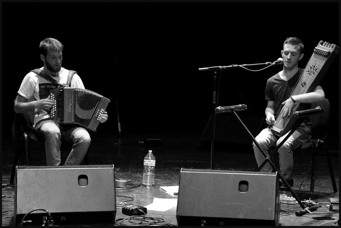 Duo Rousse-Tisnèr - La Centrifugeuse 2018 // © Stephanie Beerens