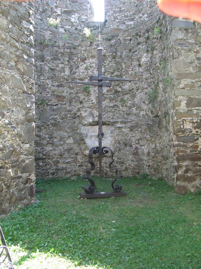handgeschmiedetes 5 Meter Kreuz