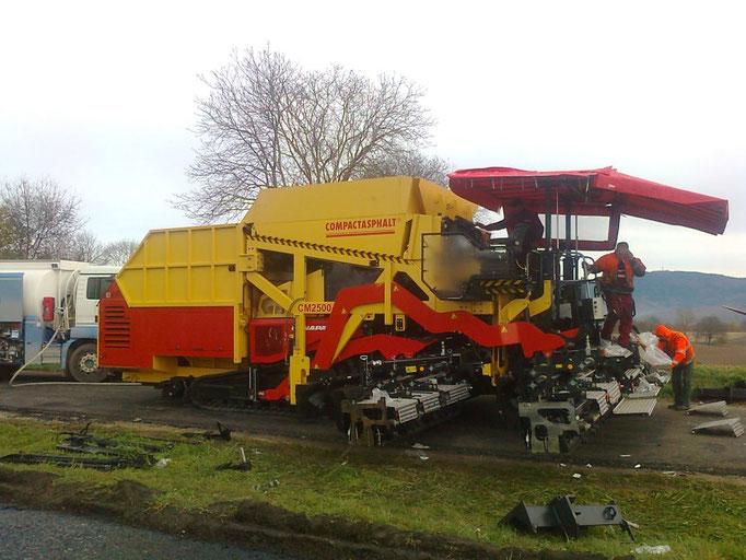 Aufbau Dynapac MF 2500 CS