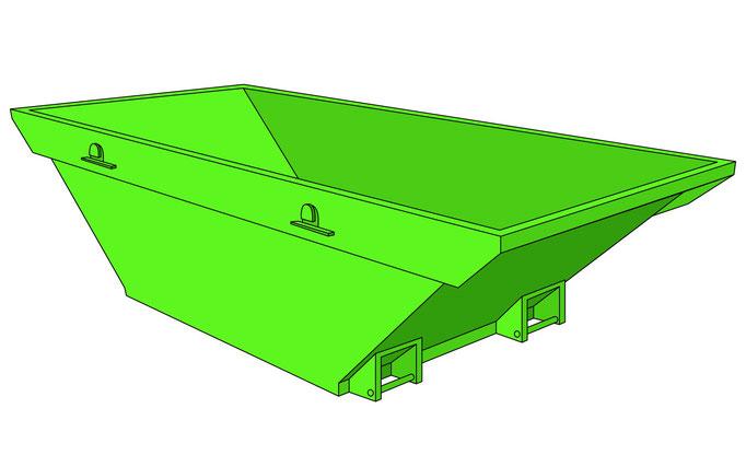 Normalmulde Plan CAD