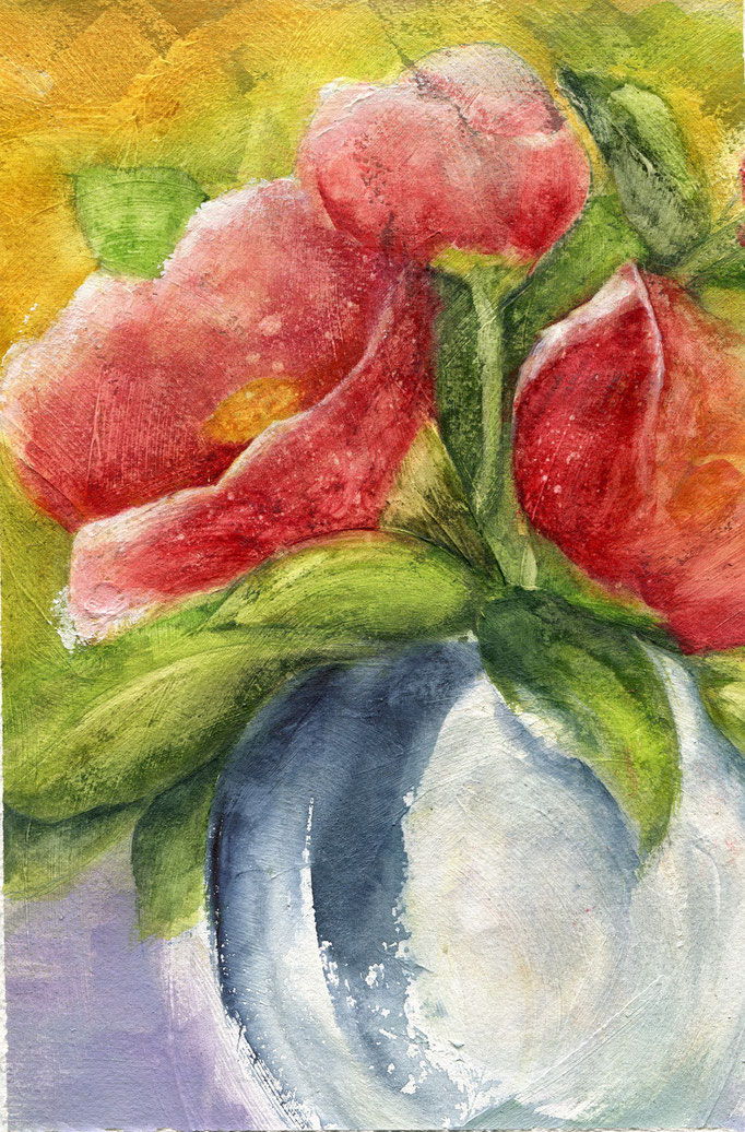 Lenten Rose 9 x 12-SOLD