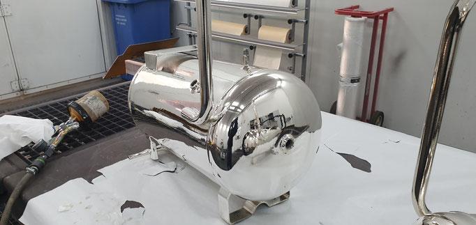 chrome,machine à chrome ,chromage  ,sprayonchrome , chrome par pulvérisation ,argent ,métallisation ,