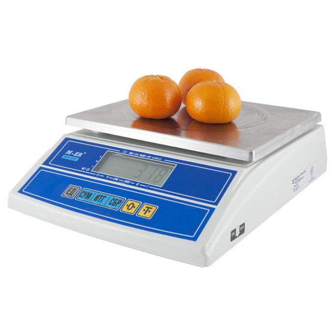 Весы Mercury M-ER 326AF LCD Cube