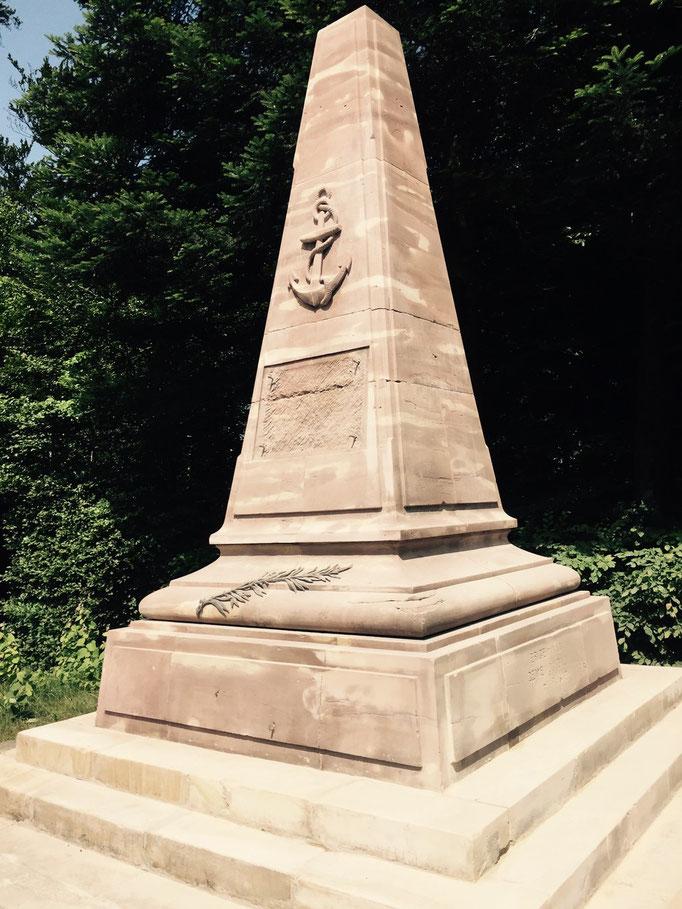 Monument des coloniaux col de la Chipotte travaux en cours de réalisation