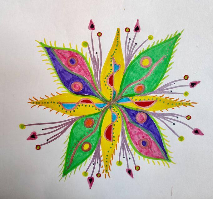 Schmetterlings-Blume