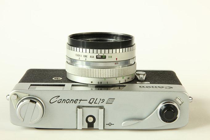 CANON Canonet QL19 E Copyright by engel-art.ch