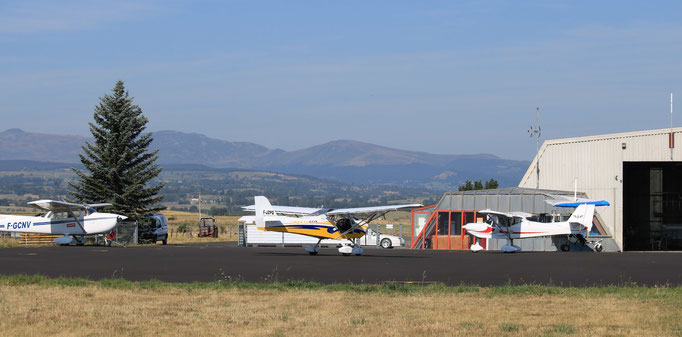 aérodrome de saint Flour Coltines
