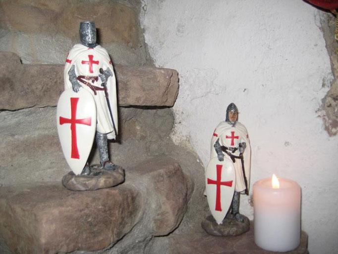 Zwei Templer sorgen für Ordnung