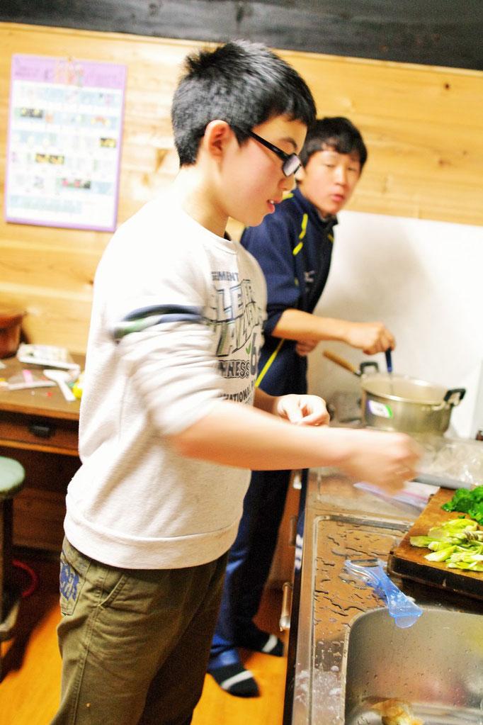 今日の料理人