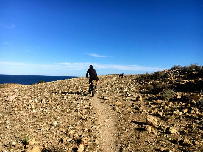 Da sind wir wieder am Cabo de Gata