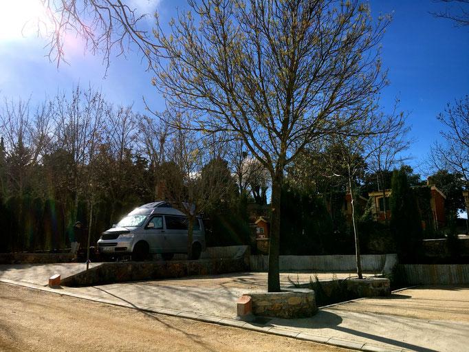 Camping in Ronda