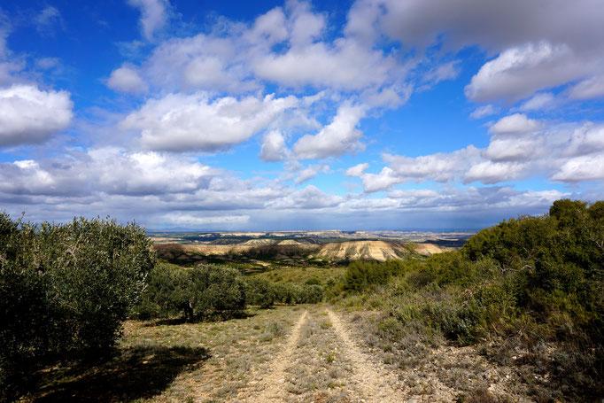 Piste durch den Naturpark Bardenas Reales