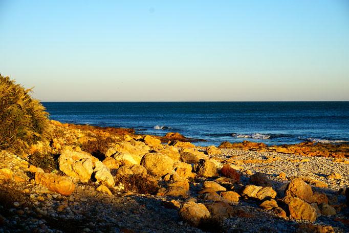 wunderschöne Küste im Parque Natural d`´