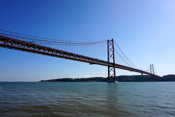 Ponte 25 de abril  - Lissabon