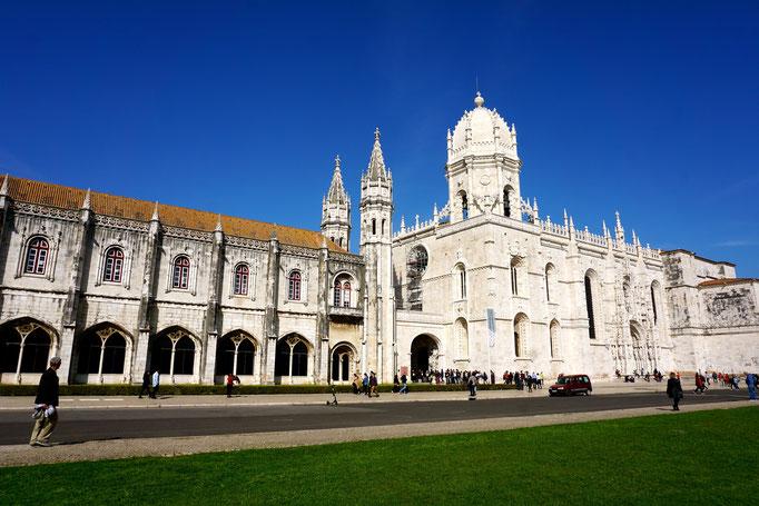 Archäologie Museum und Hieronymuskloster 16.Jh. in Lissabon