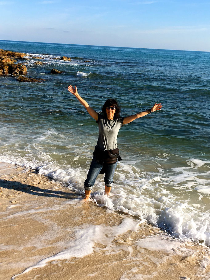 Sonne Meer und Leben geniessen