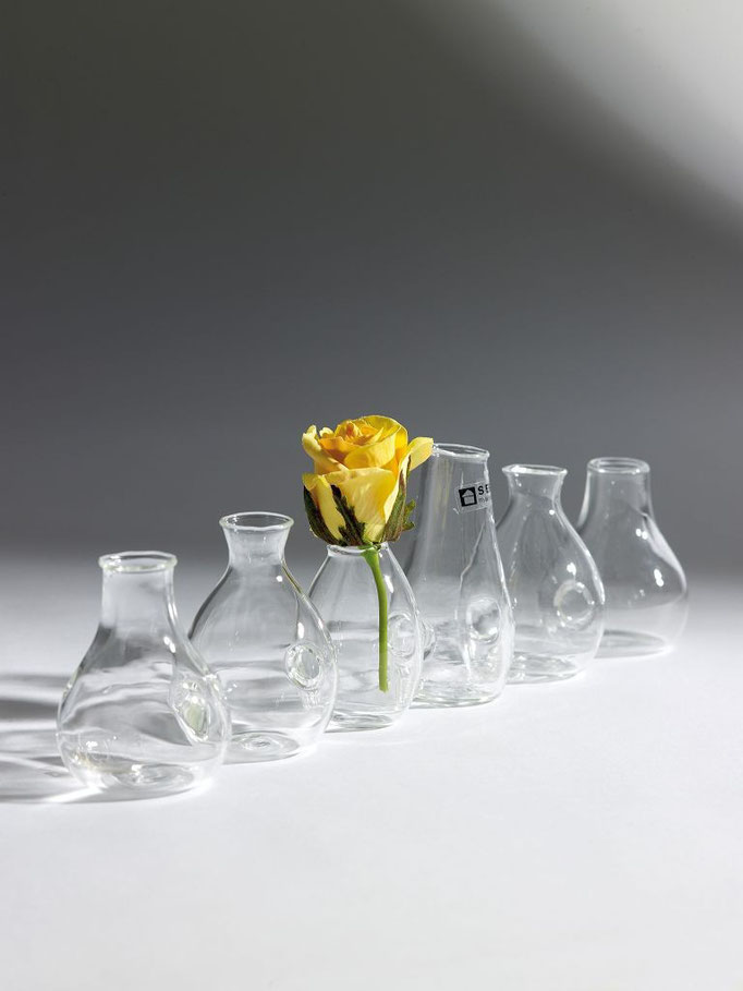 """Kettenvase"" Glas"