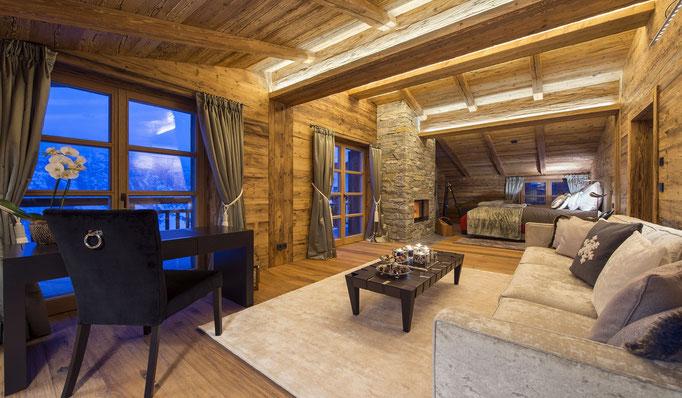 Snowtrade Royale- Wohlfühlen auf höchstem Niveau - Luxus Chalets Ski in Ski Out, Frankreich, Schweiz, Österreich z.B. Courchevel, Verbier, Lech, Kitzbühel