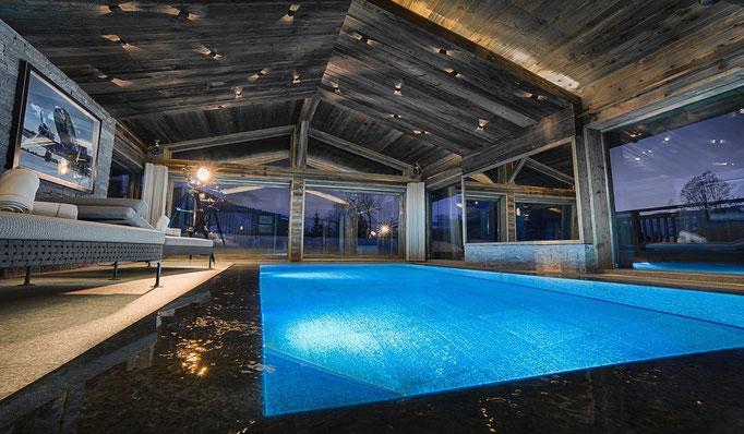 Snowtrade Royale - Luxus Chalets mit privatem großzügigem Spa Bereich - Luxus Ski Urlaub auf höchstem Niveau.
