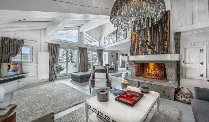 Die besten Luxus Chalets der Alpen, Ski in Ski Out, z.B. Courchevel, Verbier, Lech, Kitzbühel - Snowtrade Royale