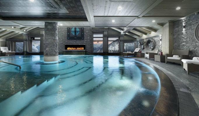 Snowtrade Royale - Luxus Ski Hotels & Premium Service auf höchstem Niveau - privater Spa Bereich