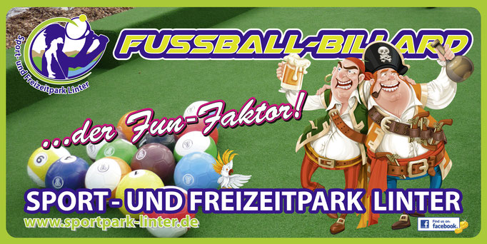 Fussball-Billard