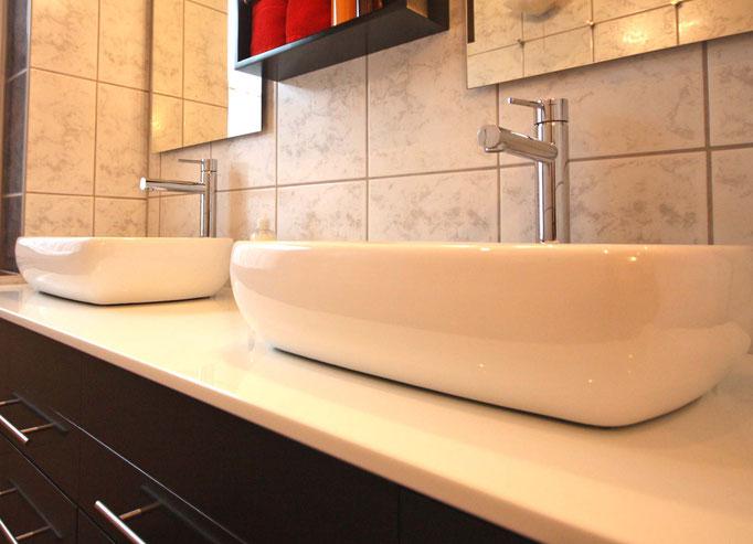 2 Waschplätze Bad OG