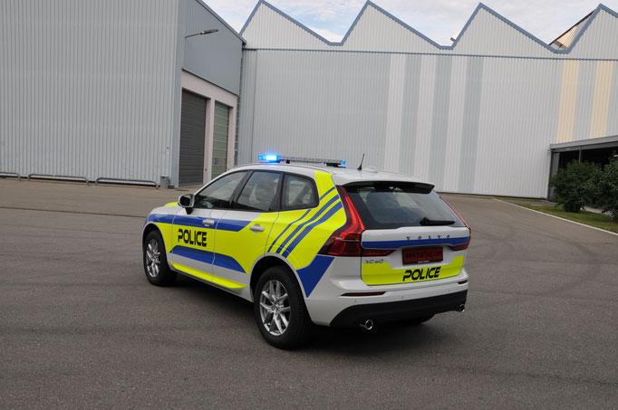 Volvo XC60 Demofahrzeug mit Standby W3 Lichtbalken