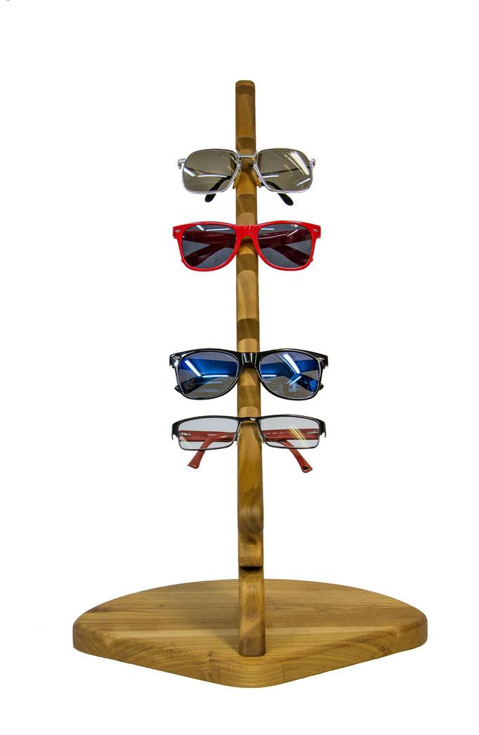 Brillenhalter aus Holz für z.B. 3, 4, 5 Brillen