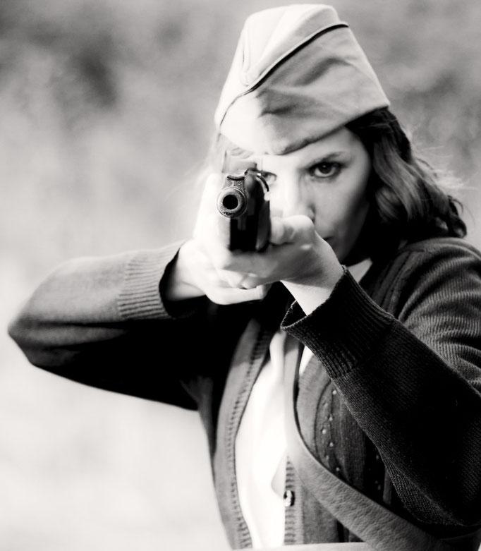 Retratos de Amor y Guerra, un proyecto fotográfico de Víctor Cruz