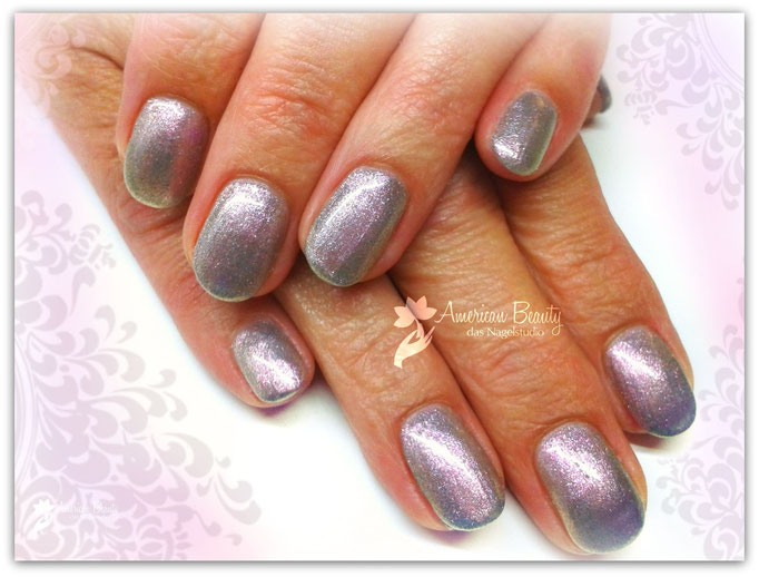 'Metallic Shimmer ' - Gel Modellage