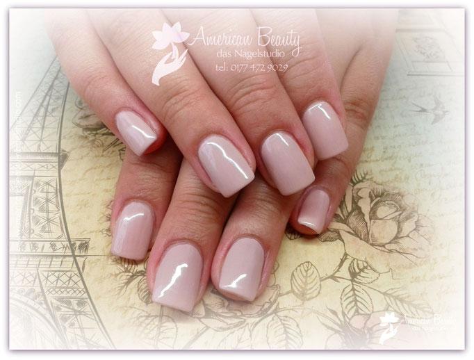 'Pastel Nude Elegance' - Gel Modellage