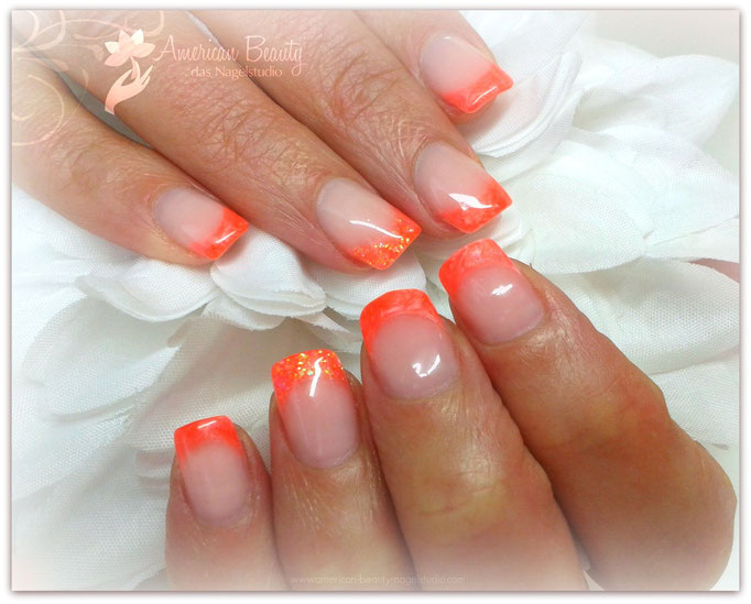 'Tropical Coral' - Gel Modellage