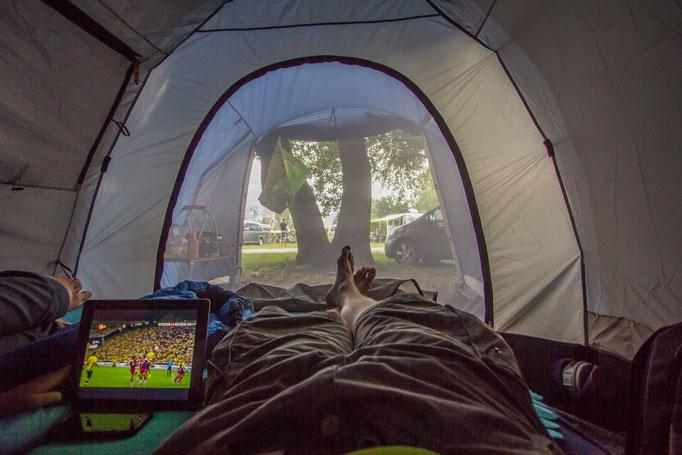 Modern Camping. Müritz 2014.