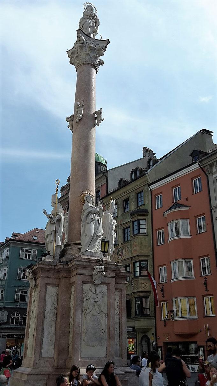 la colonne St Anna
