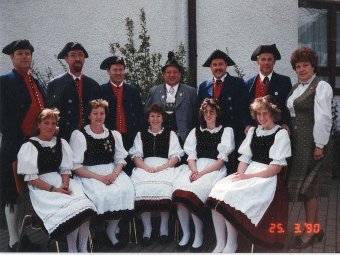 Volkstanzgruppe 1990