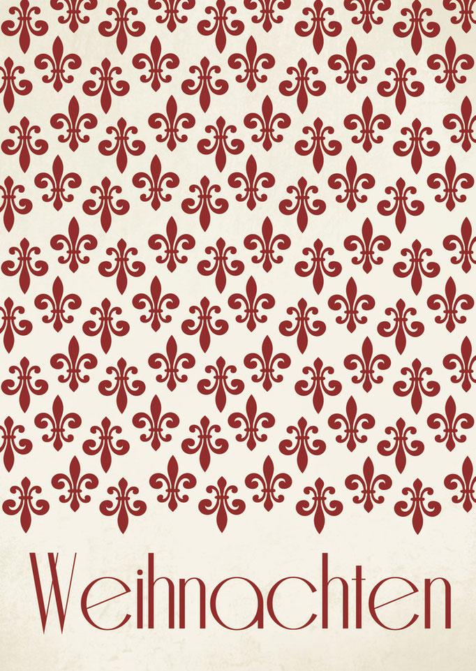 Lilie Weihnachten WK 0041
