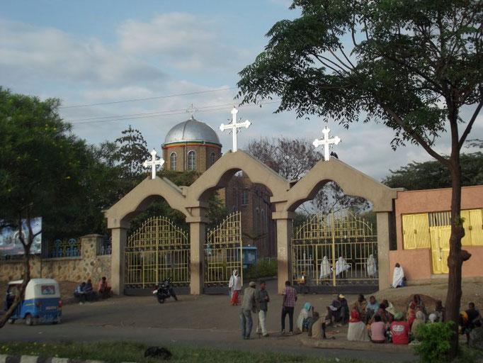 L'Eglise d'Arba MInch. Voyage Séjour Trek Trekking Randonnée Road Trip en Ethiopie Visite de la Vallée de l'Omo en Ethiopie Arba Minch