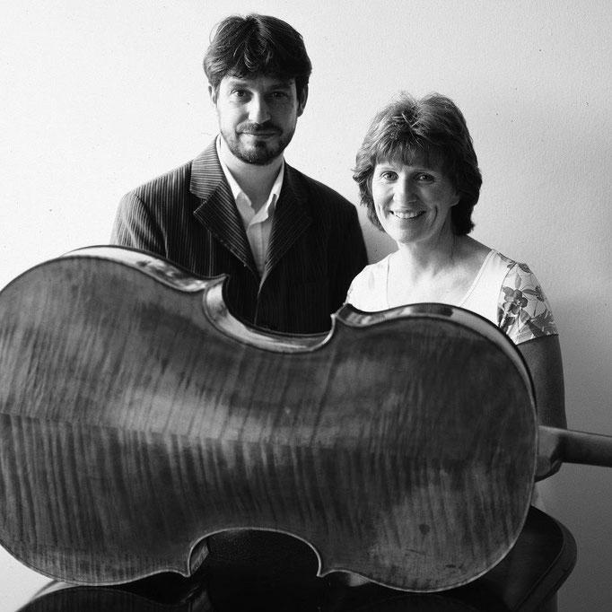 Cellist Maria Kliegel & Thomas Meuwissen © Mirjam Devriendt, 2006