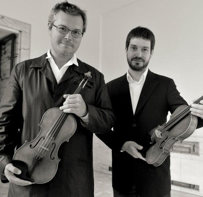 Violinist Vadim Repin & Thomas Meuwissen, BOZAR Brussels © Yves Gervais, 2008