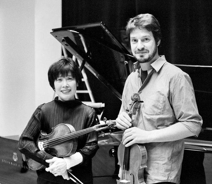 Violinist Nobuko Imai & Thomas Meuwissen, 2003