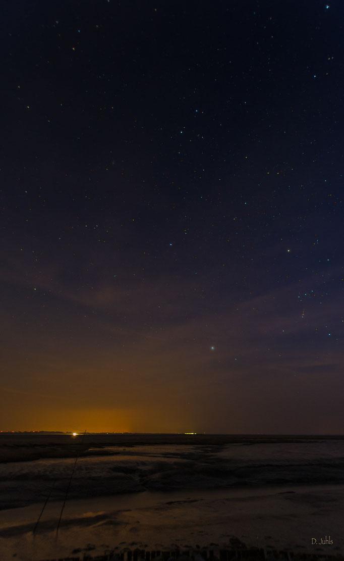 Sternenhimmel über Spieka-Neufeld