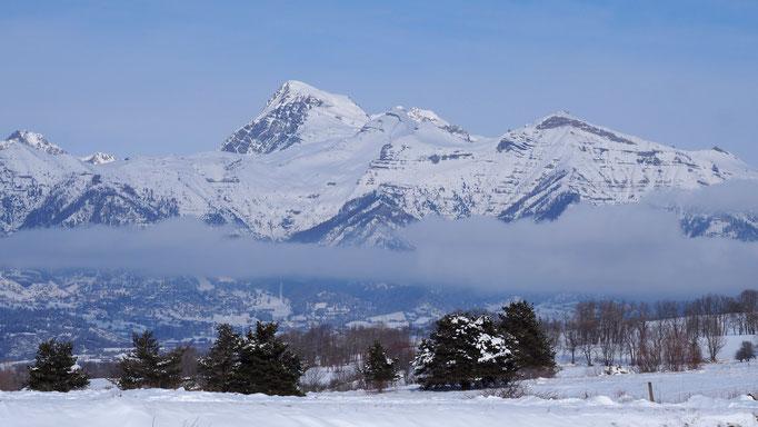 Entre le col de Manse et le chapeau de Napoléon ; Gap ; Alpes du Sud. Voyage Max de nature