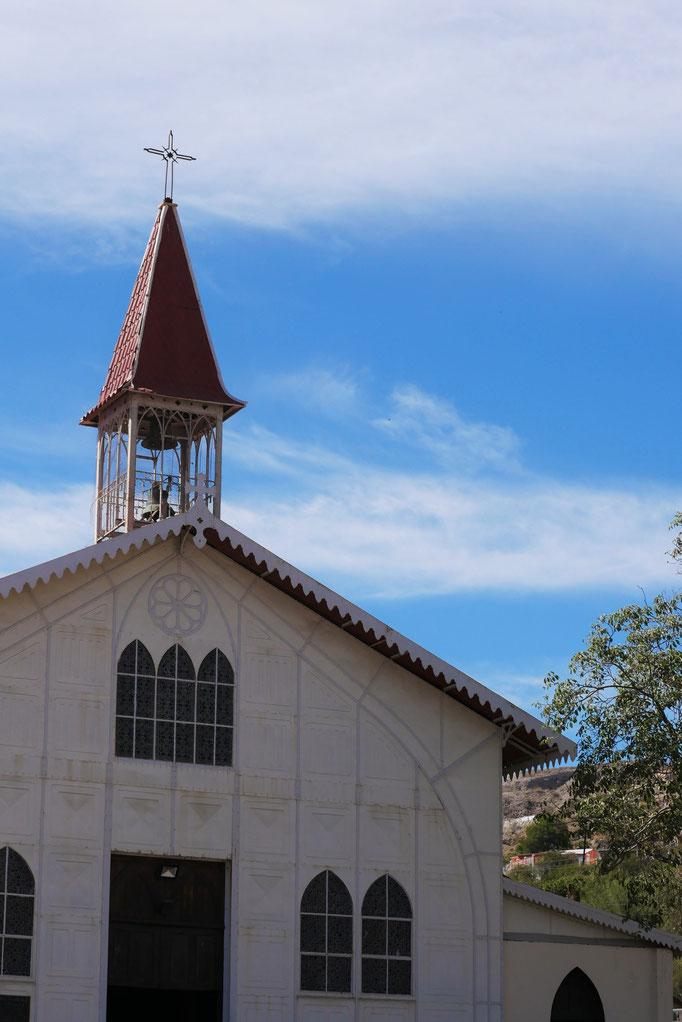 Santa Rosalia ; Basse-Californie ; Mexique. Voyage Maxime Lelièvre