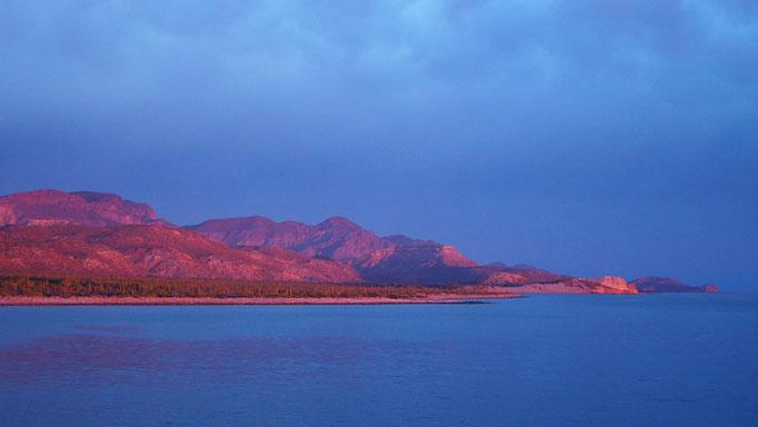 En route vers San Evaristo ; Basse-Californie ; Mexique. Voyage Maxime Lelièvre
