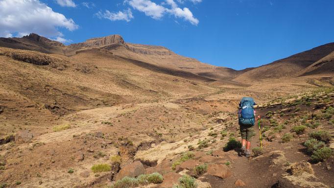 Environs du village de Thamatu ; Lesotho. Voyage Maxime Lelièvre