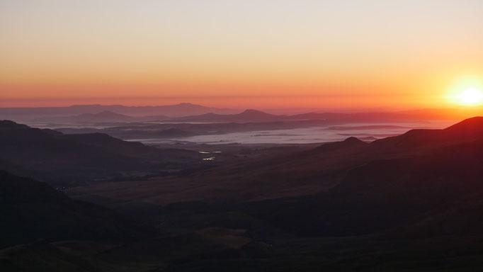 Tarn Cave ; frontière Lesotho-Afrique du Sud. Voyage Maxime Lelièvre