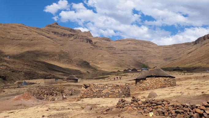 Thamatu ; Lesotho. Voyage Maxime Lelièvre